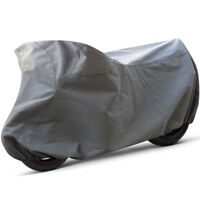 2 Layer Motorcycle Cover Fits Touring Outdoor Rain Sun UV Dust Dirt Protection