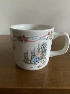 Wedgwood - Peter Rabbit - Baby Christening Mug Cup - Made in England - B. Potter