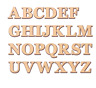 EXTRA LARGE Wooden Letters 20cm - 40cm 4mm Thick MDF Wall Hanging Wall Art Decor