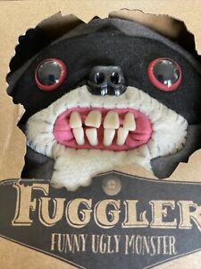 Fuggler Funny Ugly Monster Grey Bandit Raccoon - Series 6 - Grey Variant.  New