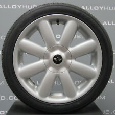"""GENUINE MINI COOPER S CROWN R56 17""""INCH ALLOY WHEELS AND TYRES X4, R50/R53/R56"""