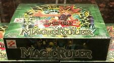 ONE BOX of YUGIOH Brand New Sealed FIRST EDITION MAGIC RULER Booster Box