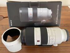 MINT Sony FE 70-200mm F2.8 OSS G Master GM Lens E-Mount w/ L-Bracket Arca-Swiss