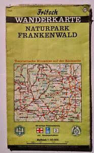 Fritsch Wanderkarte Naturpark Frankenwald