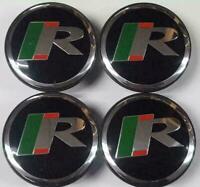 4 x Jaguar 59mm R Sport Alloy Wheel Hub Caps  X TYPE XK XF XJ XJS XJ8 XJ6 S TYPE