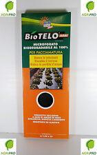 BIOTELO PER PACCIAMATURA mt 1,4 x 10 BIODEGRADABILE 15 micron bio telo RIPIEGATO