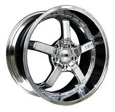 (1) HD Wheels Rims CD20 20x10 5x114.3 et20 Chrome