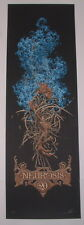 Aaron Horkey Neurosis Fall Tour Poster Print Blue Edition S/N 2006 Art