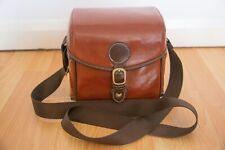 Elegant Vintage Leather Camera Case Bag