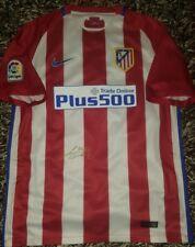 Godin Signed shirt Atletico de Madrid Uruguay proof match worn Suarez Jimenez