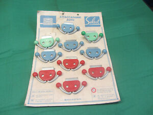 FIAT 500 ORIGINAL NEW OLD STOCK WINDOW CLOTHES HOOK ACCESSORY X 1 NOT THE CARD