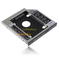 Universal Optical Bay 2nd SATA HDD Hard Drive Caddy Module Tray Adapter 12.7mm