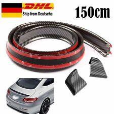 Kofferraumspoiler Heckspoiler Spoiler Lippe Carbon Schwarz für viele Fahrzeuge f