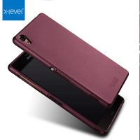 For Sony Xperia Phones Elegant 360° Protection Premium Soft Gel Matte Case Cover