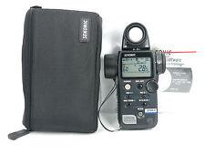 """MINT"" Sekonic L-758D Digital Master Light Meter w/case FREE SHIPPING JAPAN"