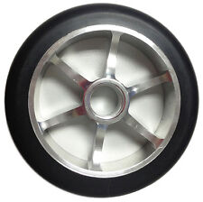 125mm x 85a YAK Metalcore Scooter Wheels, 2 wheels with bearings installed
