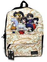Inuyasha Clouds Backpack Bioworld Chibi Anime School Book Bag Laptop Sleeve NEW