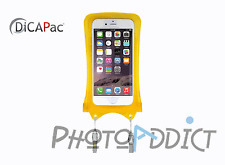 DiCAPac WP-i10 JAUNE- Housse étanche pour iPhone 3/4/4S - Certifié IPX8 - Japon