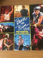 "Bruce Springsteen - Born to Run - UK 12"" single - Pic Sleeve"