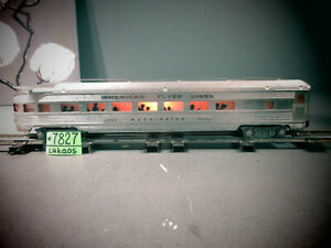 American Flyer Trains 963 WASHINGTON OBSERVATION Passenger Car S Ga WITH LIGHT.