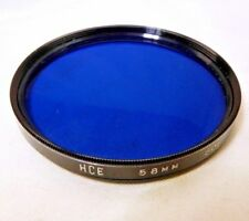 HCE 58mm Blue 80B Lens Filter Made in Japan