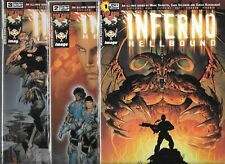 INFERNO HELLBOUND #1-#3 SET (NM-)  IMAGE COMICS, #1 IS COVER F