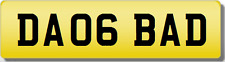 DA DAO BADBOY  Private Cherished Registration Number Plate