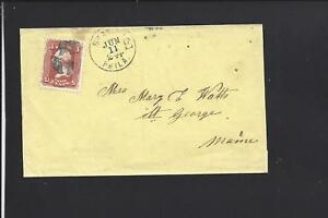 PHILADELPHIA,STATION E,PENNSYLVANIA, 3CT GRILL YELLOW COVER TO ST GEORGE,ME.