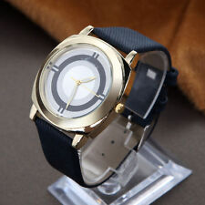 Ladies Fashion Classic Gold Quartz Black Band Dress Wrist Watch.(Aussie Seller)