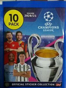 UEFA CHAMPIONS LEAGUE 2020/2021 X5O LOOSE STICKERS