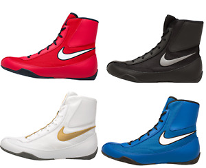 NEW Men's Nike Machomai Mid-Top Boxing Shoes