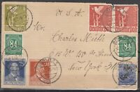 DF8154/ GERMANY SOVIET ZONE GORLITZ – MI # 178 ON CARD SIGNED