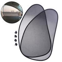 1Pair Car side Window Sunshade Sun Shade Cover Visor Mesh Shield RHB