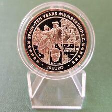 España moneda de plata 10 euro-Elizabeth II 1996-pp