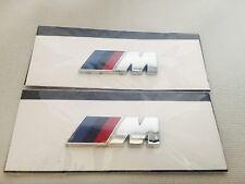 2 Original BMW M Embleme für Kotflügel Seitenwand ///M Emblem Logo Aufkleber NEU
