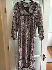 New listing Vintage 1970s indian cotton maxi dress- size s-m