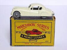"MATCHBOX Lesney No.32a JAGUAR XK140 in tipo ""B2' SERIE MOKO BOX (ruote di metallo)"