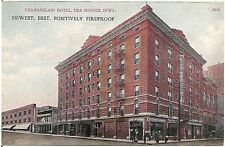 Chamberlain Hotel in Des Moines IA Postcard