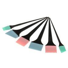 6x Kit Brosse en Silicone à Colorant Cheveux Coloration Teinture Coiffure