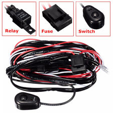 8ft 40A 12V Power Switch&Relay Wiring Harness Kit for LED Light Bar Offroad New