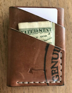 Craft And Lore Port Wallet Horween Shell Cordovan Burgundy Reversed