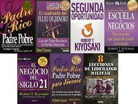 Pack De 7 Libros por Robert Kiyosaky para el Exito Financiero