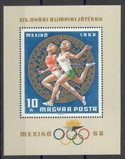 Hongarije - 1968 - Mi. Blok 65 (Olympische spelen) - Postfris - MO235