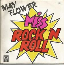 MAY FLOWER Miss rock'n roll DOUBLE SINGLE PROMO EAGLE RECORDS