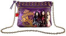 Disney Store Descendants Purple Auradon Prep Crossbody Bag Studs Metal Chain NEW