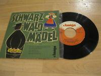 "7"" Single Leon Jessel Schwarzwald Mädel Querschnitt Vinyl AMIGA DDR 5 40 029"
