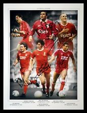 *New* Liverpool Legends 12x16 Football Photograph signed By 6.