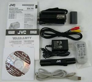 E JVC Everio GZ MG360 BU 60 GB Camcorder - Onyx black