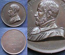 MEDAGLIONE 1880 GIOVANNI PIERLUIGI da PALESTRINA COMPOSITORE MUSICA ROMA CERBARA