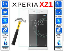 Genuine 100% TEMPERED GLASS Ultra HD Screen Protector Cover For Sony Xperia XZ1